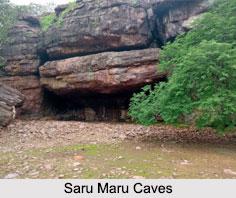 Saru Maru Caves, Madhya Pradesh