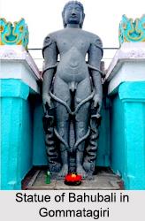 Statue of Bahubali, Gommatagiri