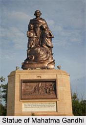 Statue of Mahatma Gandhi, Gandhi Maidan