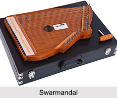 Swarmandal, String Instrument