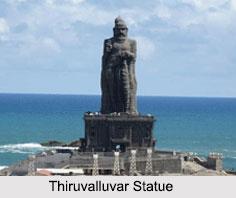 Thiruvalluvar Statue, Kankyakumari, Tamil Nadu