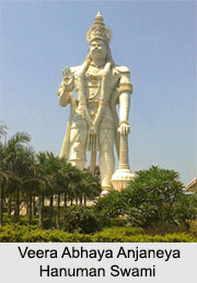 Veera Abhaya Anjaneya Hanuman Swami, Vijaywada, Andhra Pradesh