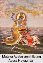 Matsya Avatar, Lord Vishnu