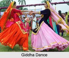 Giddha Dance, Folk Dance of Punjab