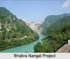 Bhakra Nangal Project, Sutlej River
