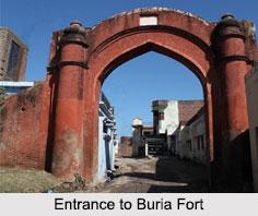Buria Fort, Yamunanagar District, Haryana