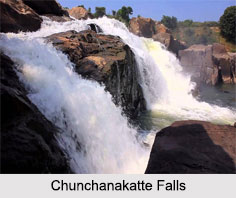 Chunchanakatte Falls, Mysore District, Karnataka