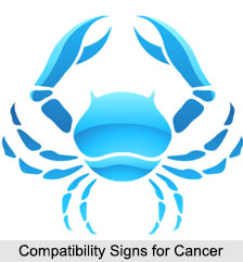 Compatibility Signs for Cancer, Zodiacs