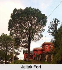 Jaitak Fort, Sirmaur District, Himachal Pradesh