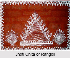 Jhoti Chita, Folk Paintings of Odisha