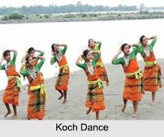Koch Dance, Garo Hills, Meghalaya