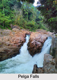 Pelga Falls, Garo Hills, Meghalaya