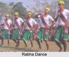 Rabha Dance, Garo Hills, Meghalaya