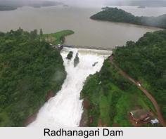 Radhanagari Dam, Kolhapur, Maharashtra