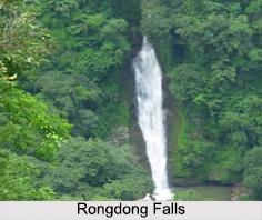 Rongdong Falls, Garo Hills, Meghalaya