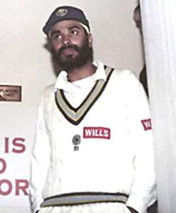 N Sidhu, Indian Cricket