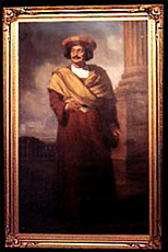 The Calcutta Gallery  - The painting of the social reformer, Ram Mohan Roy