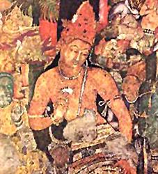The paintings at Ajanta