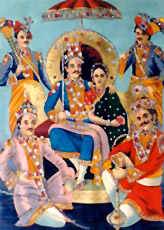 Pandava was first applied to King Pandu's five sons