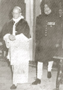 After Presenting his credentials to His Holiness Pope Paul VI