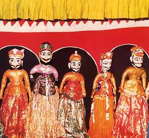 Rajsthan String Puppets