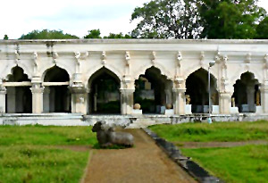Royal buildings of 'Tanjavur' Marathas
