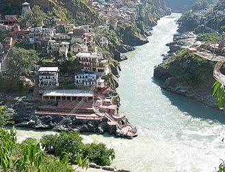 Rudraprayag - Alaknanda and Mandakini