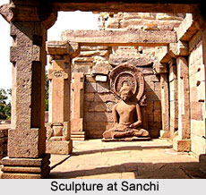 Sanchi Shrine and monastery