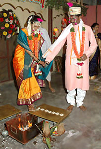 Saptapadi, Hindu Marriage Ritual