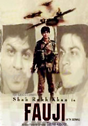 Shahrukh's first television serial Fauji