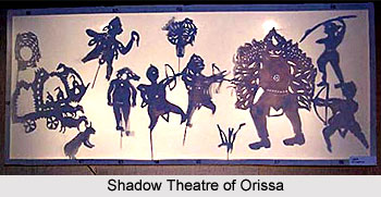 Orissa - Shadow Theatre, Indian Form Of Art