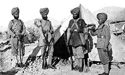 Sikh  Regiment: Battle of Saragarhi