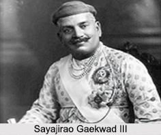 Sayajirao Gaekwad III, Maharaja of Baroda