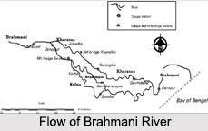 Brahmani River, Coastal River