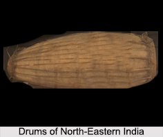 Drums of North-Eastern India, Tribal Musical Instrument