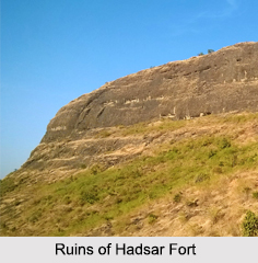Hadsar Fort, Pune District, Maharashtra