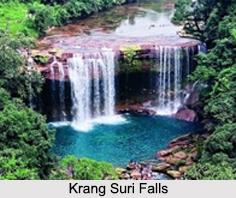 Krang Suri Falls, Meghalaya