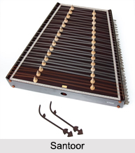 Santoor, Indian Musical Instrument