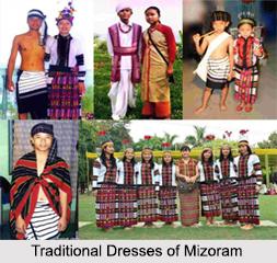 Traditional Dress of Mizoram