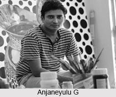 Anjaneyulu G, Indian Painter