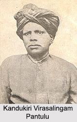 Kandukuri Virasalingam Pantulu, Indian Social Reformer