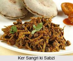 Ker Sangri ki Sabzi, Rajasthani Cuisine