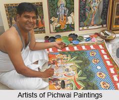 Pichwai Paintings, Rajasthan