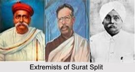 Surat Split, Modern Indian History