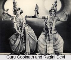 Guru Gopinath, Kathakali Dancer