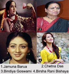 Assamese Film Actresses, Indian Cinema