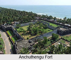 Anchuthengu Fort, Kerala