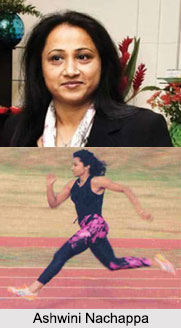 Ashwini Nachappa, Indian Athlete