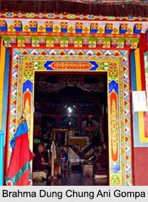 Brahma Dung Chung Ani Gompa, Tawang, Arunachal Pradesh