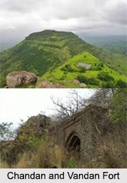 Chandan and Vandan Fort, Maharashtra